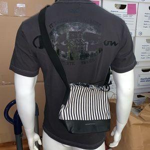nwot LOEFFLER RANDALL pencil striped BUCKET BAG